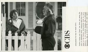 ANJELICA HUSTON TOMMY LEE JONES LONESOME DOVE ORIGINAL 1989 CBS TV PHOTO