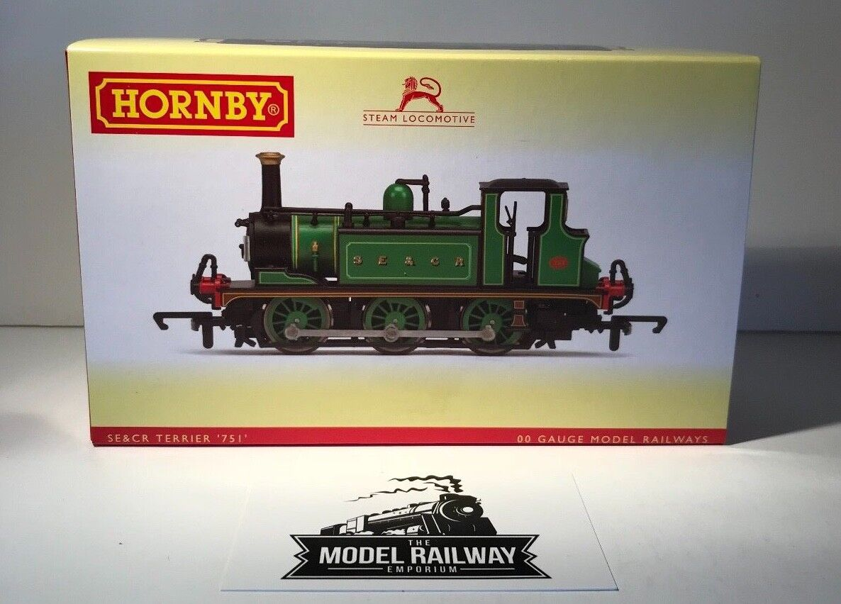 HORNBY 00 GAUGE - R3467 - SE&CR SOUTH EAST & CHATHAM RAILWAY TERRIER 751 - NEW