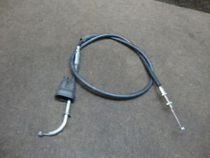 01 2001 SUZUKI DRZ 400 DRZ400 THROTTLE CABLE #Y27