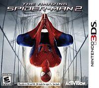 The Amazing Spider-man Spiderman 2 3ds 2014 Ntsc