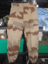 Pantalon F1 camo daguet désert Guerre du Golfe taille 72L Armée Française