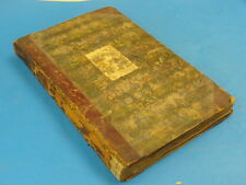 AMAZING ANTIQUE NEWSPAPER SCRAPBOOK SPANNING 1832 to 1911 and more ...