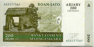 MADAGASCAR-200-ARIARY-2004-etat-voir-scan-756