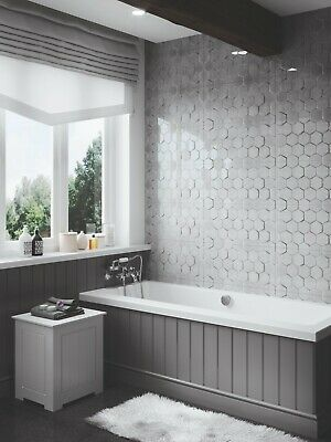 High Gloss Cement Grey 60x30 Wall Tiles