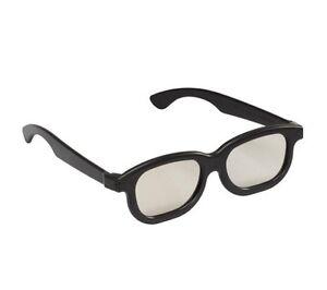 3D Gafas Pasivo Negras Polarizadas Home Peliculas Cinema Películas Tvs Game (