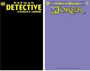 Detective-1000-BLACK-JOKER-1-PURPLE-RARE-1000-LIMITED-SKETCH-COVER-VARIANTS