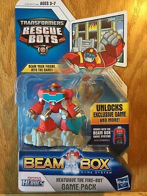 Transformers Rescue Bots Beam Box Game Pack Car Game Accessory Bumblebee