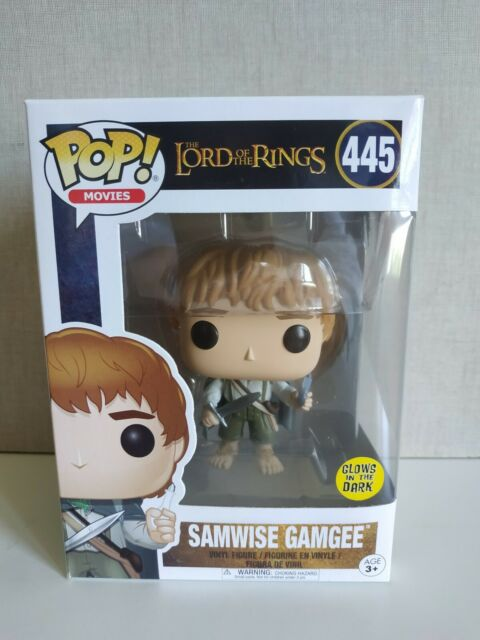 Funko pop Samwise Gamgee Lord of the Rings - Glow  Brilla LOTR -VER FOTOS
