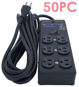 50x furman ss 6b pro plug 6 outlet ac surge power strip conditioning 654061011224 ebay. Black Bedroom Furniture Sets. Home Design Ideas