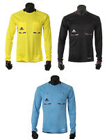 Adidas Referee L/s Jersey Soccer Football Shirt Top Uniform 3 Colors