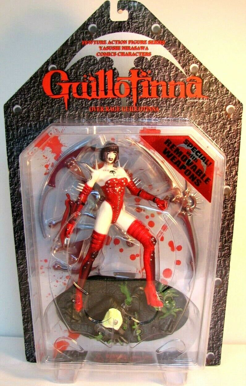 GUILLOTINNA rot Version with Weapons PVC figure 16cm Fewture Models