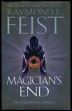 RAYMOND E. FEIST - MAGICIANS END - 1ST H/B