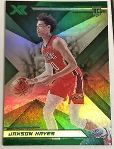 2019-20-Panini-Chronicles-XR-Green-Jaxson-Hayes-Rookie-Rare-SP-RC-285-MINT