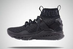 Puma Ignite Evoknit En Noir Mens Black Textile Athletic Training ... 25b007cab