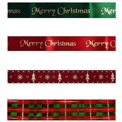 5 Designs Anniversary House Merry Christmas Cake Ribbons Xmas Decoration 100cm