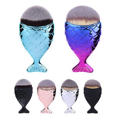 New Cosmetic Makeup Brush Fish Scale Brush Mermaid Bottom Brush Powder Blush