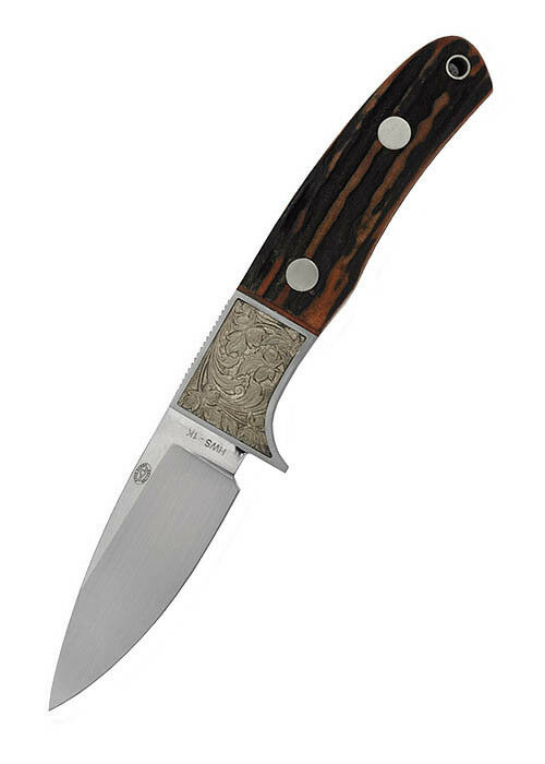 HANWEI SIKA coltello con Drop-Point-lama Drop-Point-lama Drop-Point-lama e Hirsch CORNO Grip 21cm COLTELLO DA CACCIA eb99ad
