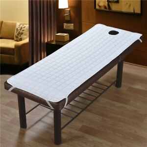 Peachy Details About Anti Slip Beauty Massage Spa Bed Table Cover W Face Hole Salon Couch Sheet Ibusinesslaw Wood Chair Design Ideas Ibusinesslaworg