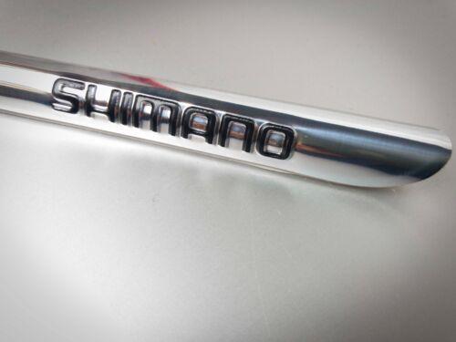 PROTEZIONE TELAIO Batticatena Shimano NERO Chain Deflector ADESIVO nuovo BLACK