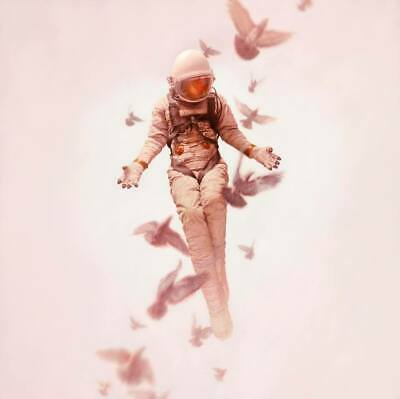 Jeremy Geddes Lithograph Print Red Cosmonaut 2009 Art Poster Handbill Astronaut
