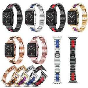 Stainless-Steel-Strap-Link-Bracelet-Band-for-Apple-Watch-5-4-3-2-38-40-42-44MM