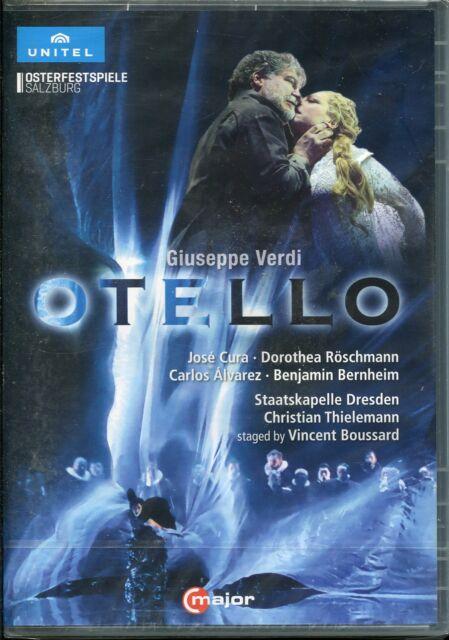 Verdi Otello DVD NEW Salzburg Easter Festival Jose Cura