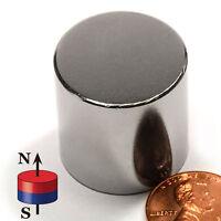 Cms Magnetics® Super Strong N52 Neodymium Cylinder Magnet 1x1  - Best Seller