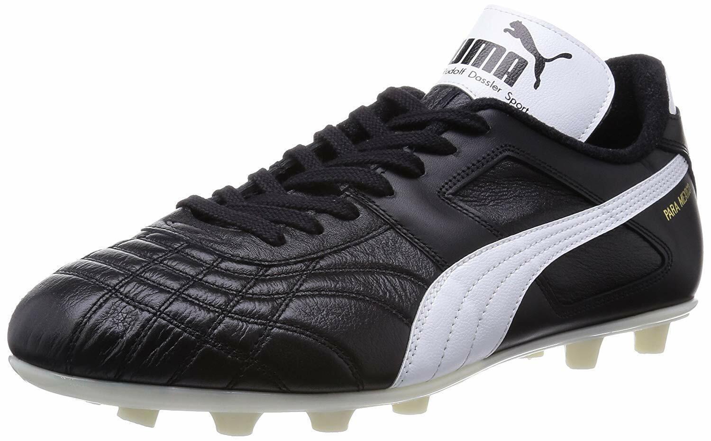 Puma Zapatos Botines De Fútbol Balonpié Spike para México 880577 Negro US9.5 (27.5cm)