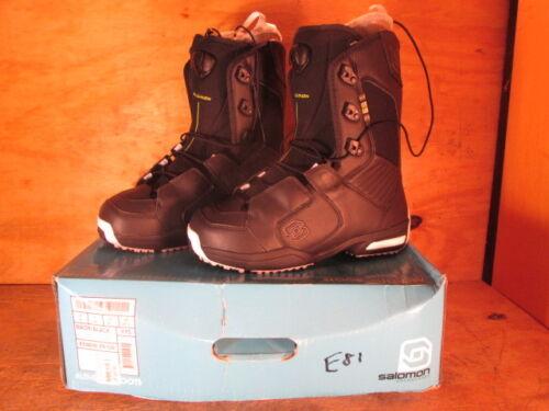 Salomon Men/'s Maori Black Snowboard Boots New in Box Various Sizes