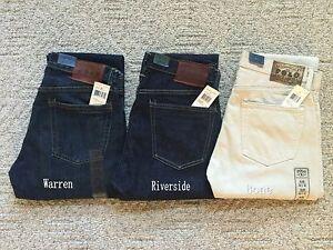 dfda0c85 NWT New Polo Ralph Lauren Mens Slim Fit 381 Denim Jeans Pants Blue ...