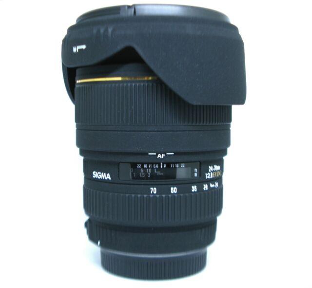 *MINT CLASS*Sigma 24-70mm f/2.8 EX DG MACRO  Lens For Sigma SA + 82 UV