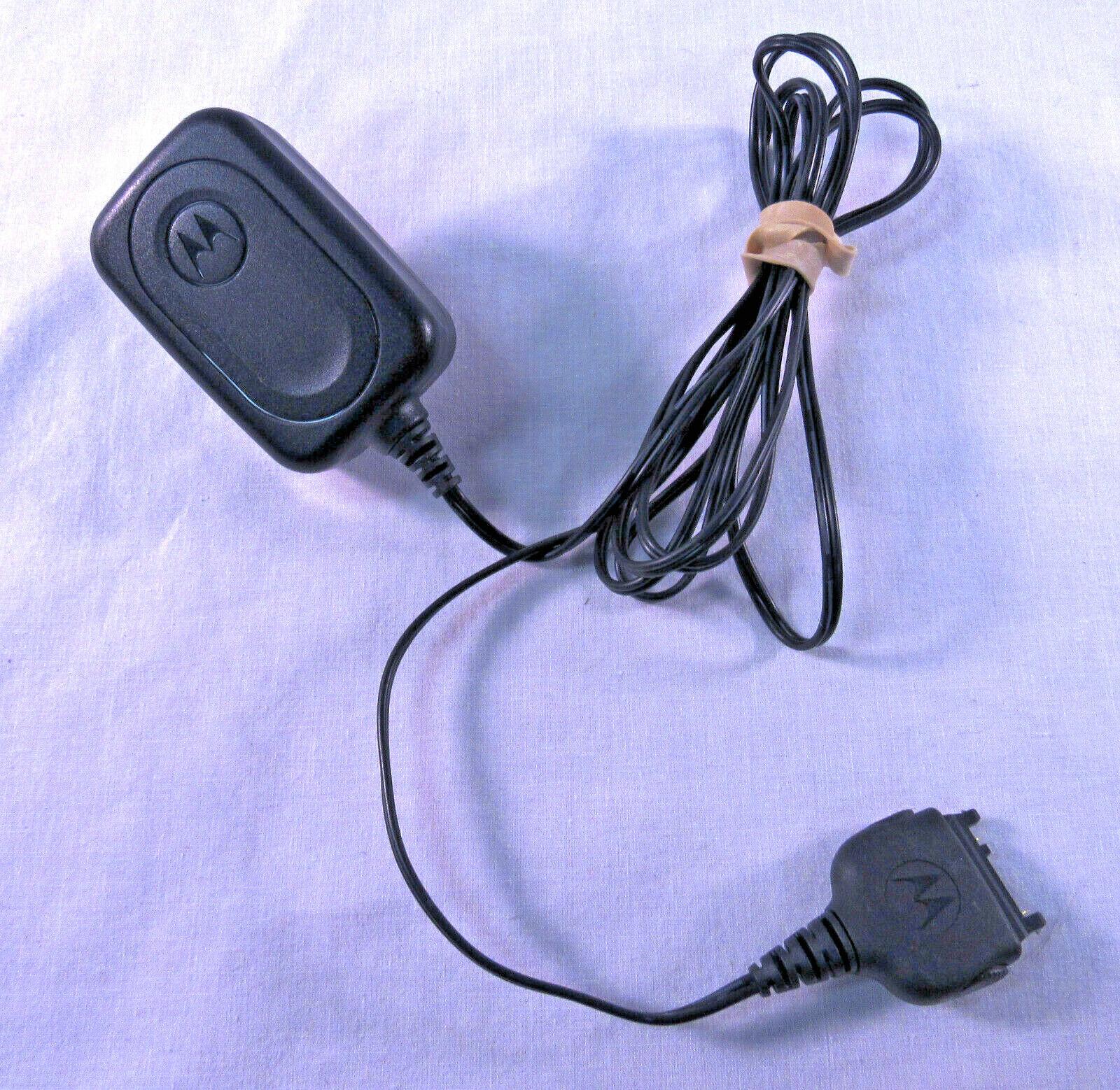 Vintage Motorola brand power Adapter, 100 ~240VAC, 50~60Hz, to 5VDC , 800mA