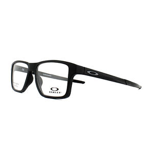 37743557d6 Image is loading Oakley-Glasses-Frames-Chamfer-Squared-OX8143-01-Satin-