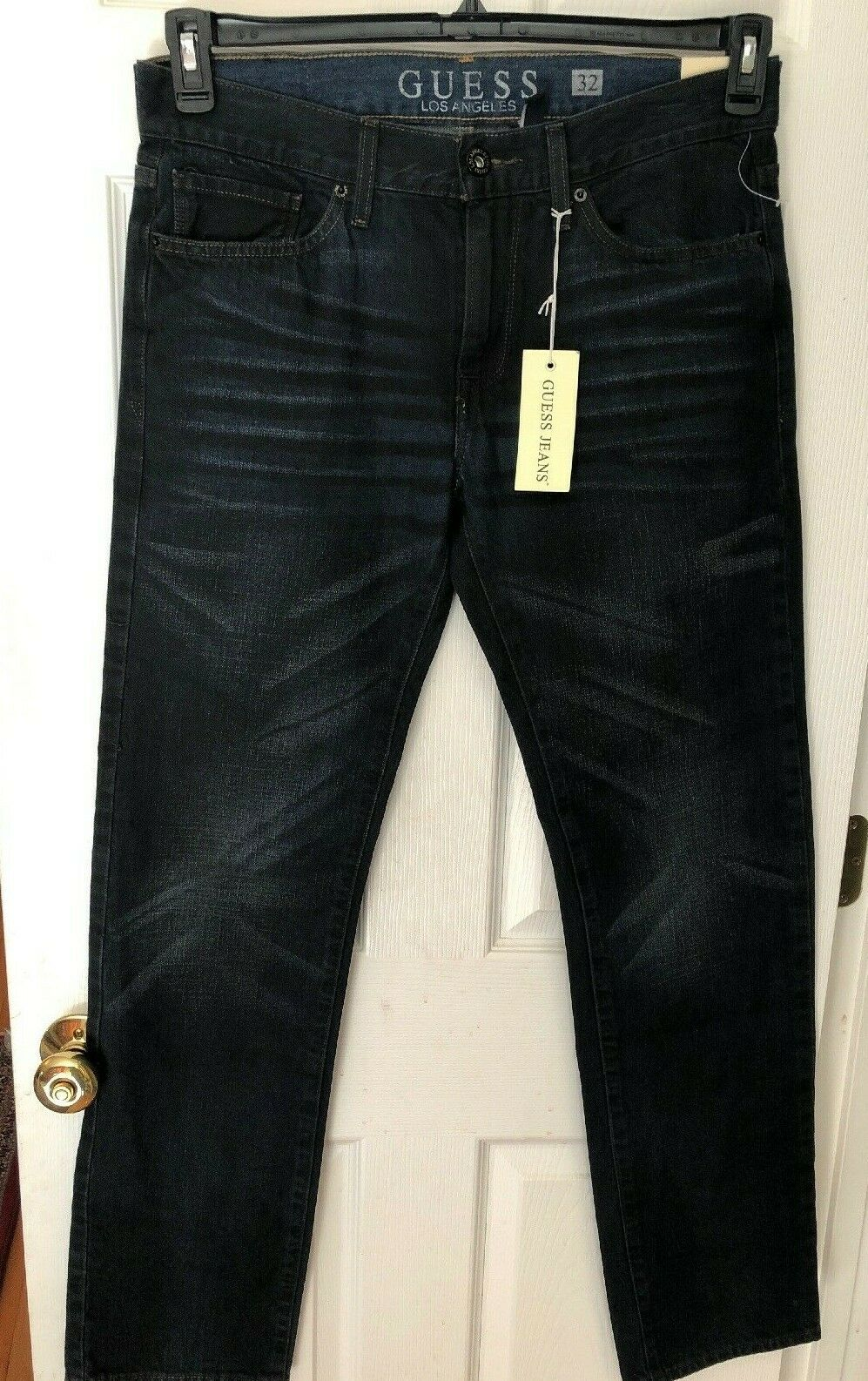 Guess Men's Jeans New with Tags Size 32X32 bluee Jeans Slim and Straight