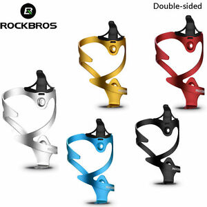 ROCKBROS-Bike-Water-Bottle-Cage-Bicycle-Double-sided-Bottle-Cage-Holder-5-Colors