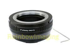 Fotasy Pentax P110 Lens to Fujifilm X-Pro2 X-E1 X-E2 X-T10 X-M1 X-T1 Adapter
