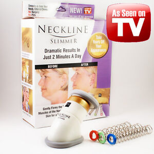 Details about As Seen On TV PY Neckline Slimmer Double Chin & Neck Line  Reducer USA FREE SHIP!