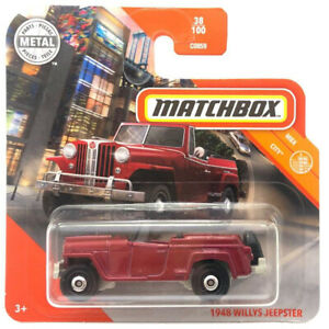Matchbox MBX 1948er  Willys Jeep Jeepster NEUHEIT 2020