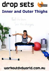 Weights-Exercise-DVD-Barlates-Body-Blitz-DROP-SETS-INNER-AND-OUTER-THIGHS