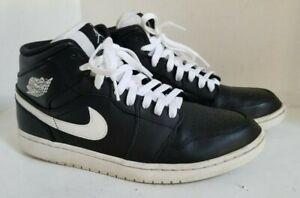 038 Mid 8 Size Details 554724 Nike Air 1 Sneakers Blackwhite About 5 Basketball Mens Jordan 3R4Lqj5A