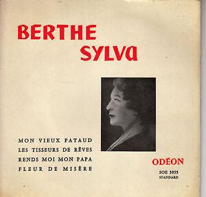 45TRS-VINYL-7-039-039-FRENCH-EP-BERTHE-SYLVA-MON-VIEUX-PATAUD-3-2E-POCH