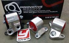INNOVATIVE B10050 Billet Swap Motor Mounts Kit 60A for CIVIC 96-00 2-Bolt EK