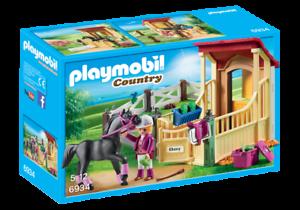 Playmobil-6934-caballo-estable-con-Araber-nuevo