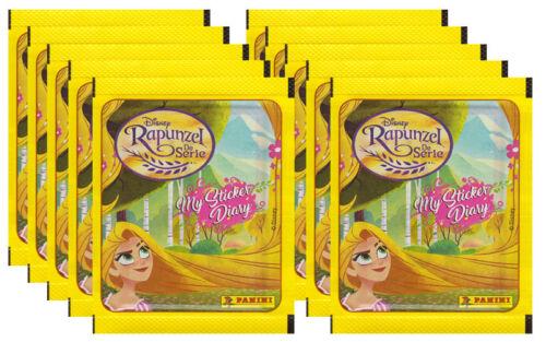 Sammelsticker 10 Tüten Disney Rapunzel 2018
