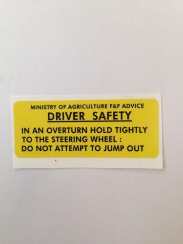 decal 245 262 272 282 2100 472 482 255 270 253 344 384 Leyland warning sticker