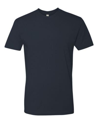 Next Level Premium Crew Men/'s Soft Short Sleeve Fitted T-Shirt Plain Tee 3600