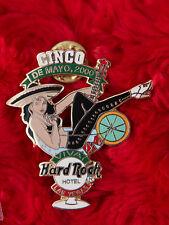 Hard Rock Cafe Pin Las Vegas hotel CINCO DE MAYO martini glass girl guitar lapel