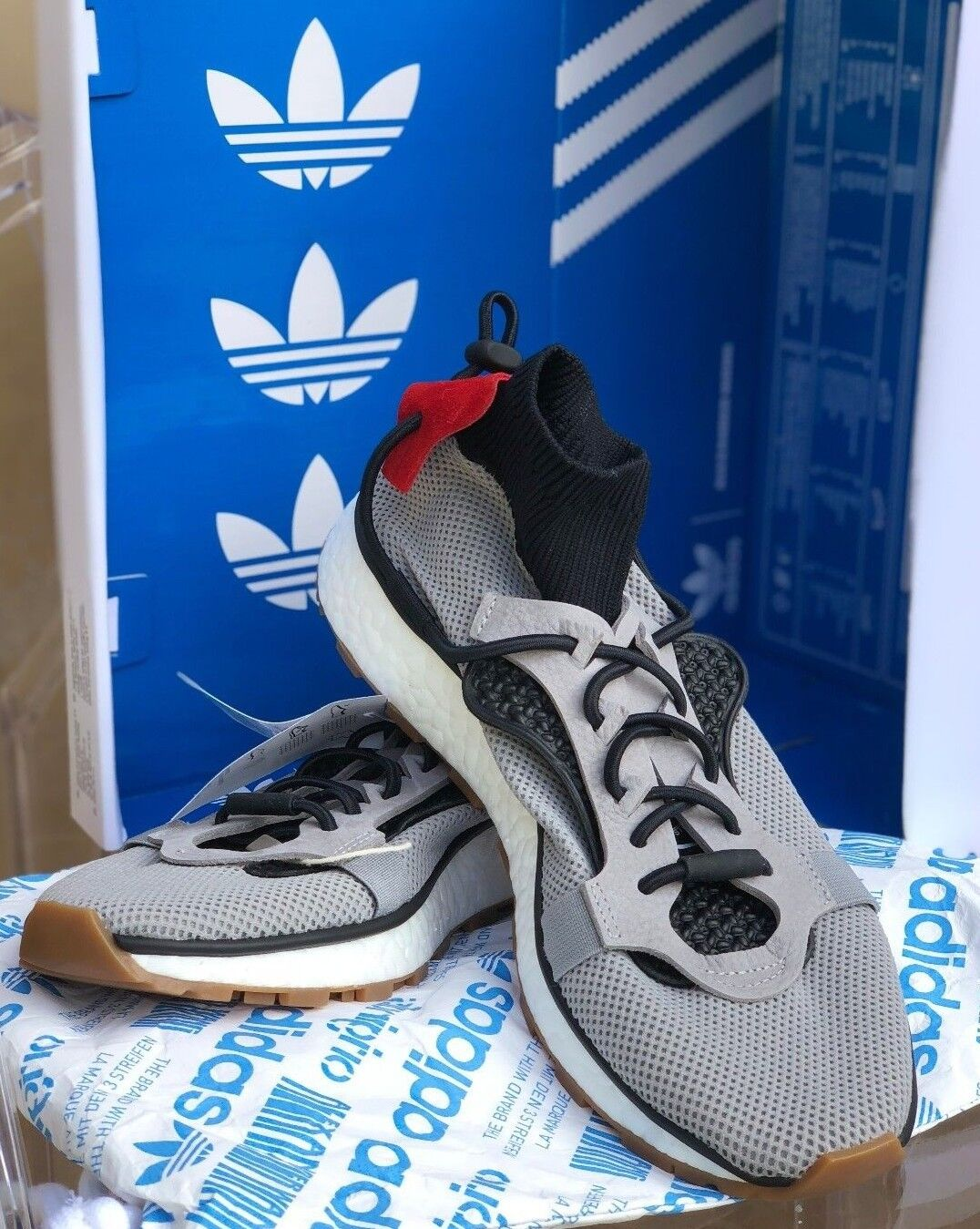 Adidas Originals by Alexander Wang x AW Run Boost CM7826 SZ M 6.5 W 7.5
