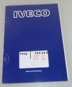 Service & Reparaturanleitungen Elektrik Iveco 165.24 R Modische Und Attraktive Pakete Gerade Schulungsunterlage Elektrische Anlage Automobilia