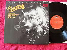 Melina Mercouri - Chansons     klasse German Polydor LP